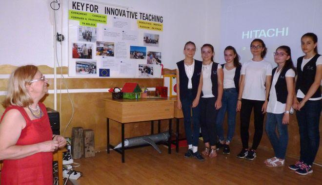 """Foto: Școala Gimnazială """"Grigore Moisil"""" a sărbătorit Zilele Erasmus"""