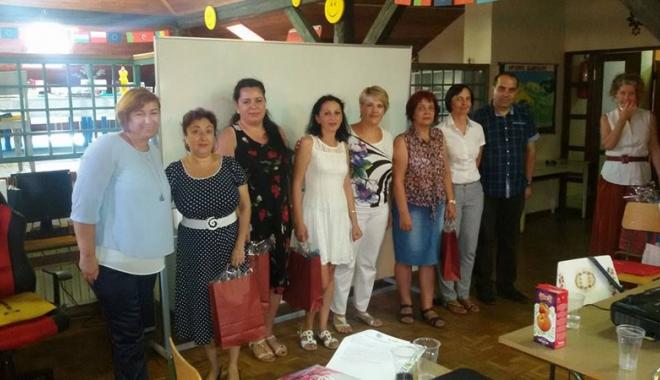 """Foto: Vacanţă activă pentru profesorii de la Şcoala """"Viceamiral Murgescu"""""""