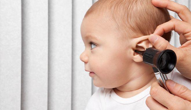 Foto: Program de screening auditiv derulat de Ministerul Sănătății