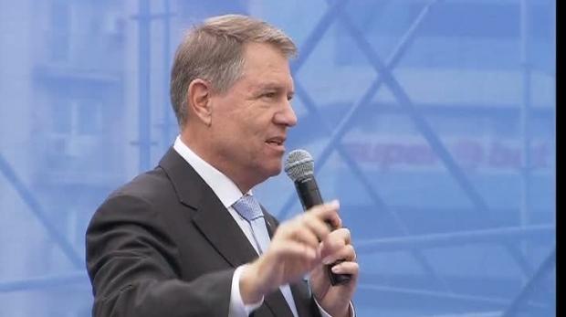 Foto: Preşedintele României, declaraţii de presă