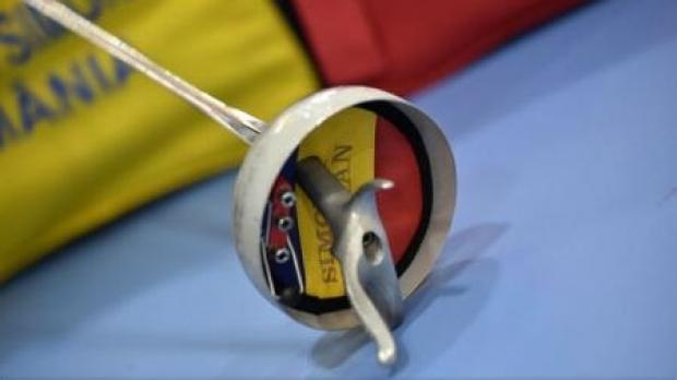 Foto: Echipa feminină de spadă a României, medaliată cu bronz la Europene
