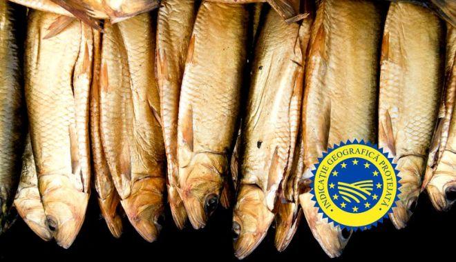 Foto: Scrumbia de Dunăre afumată, pe lista produselor cu indicație geografică protejată a UE