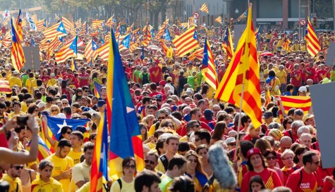 Foto: Scrutin pentru ratificarea voinței de independență în Catalonia