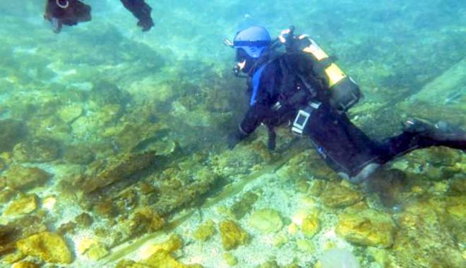 Foto: Misterele muzeului subacvatic din Marea Neagră