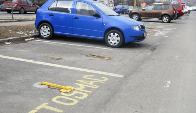 Foto: Cine sunt constănţenii care nu plătesc taxa  de rezervare loc parcare
