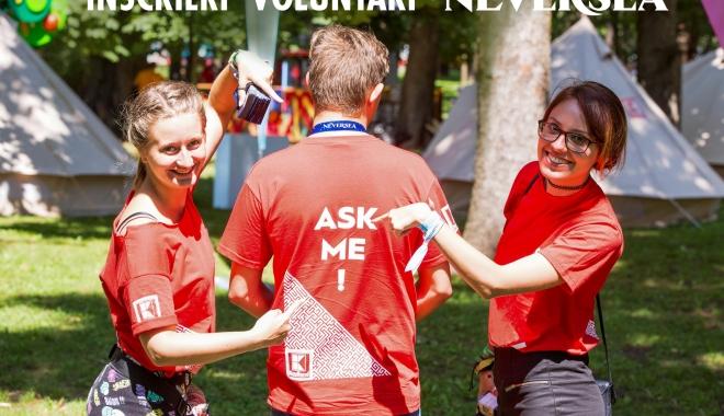 Foto: Se caută voluntari pentru festivalurile Untold şi Neversea. Iată cum te poţi înscrie