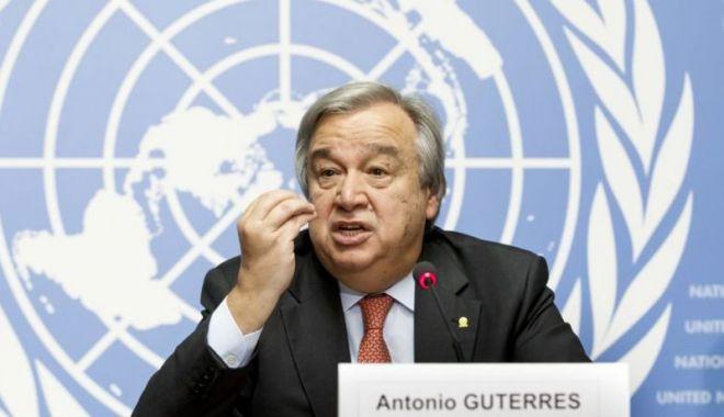 Secretarul general  al ONU cere încetarea imediată  a ostilităţilor în Libia - secretarul-1535899967.jpg