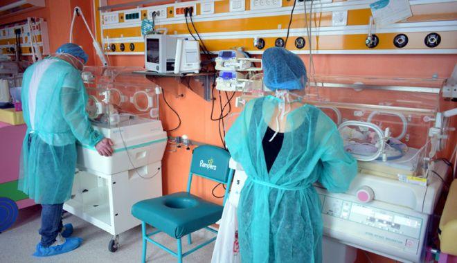 Foto: Se strâng banii pentru renovarea secţiei de Terapie Intensivă Nou-Născuţi Constanţa