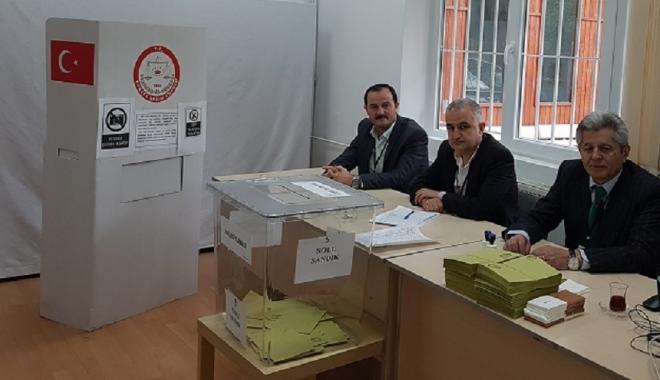 Foto: Turcii sunt chemaţi la urne. Vot asupra modificării Constituţiei