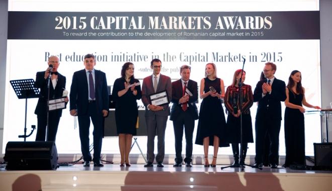 Foto: Se dă startul la Premiile Pieţei de Capital pe 2016