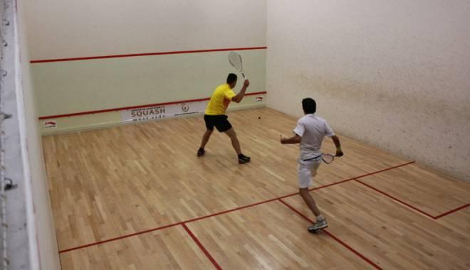 """Foto: """"Lupte crâncene""""  pentru titlul de campion al Constanţei la squash"""