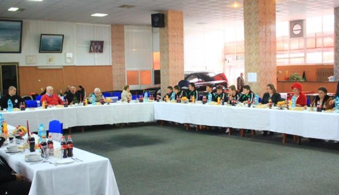 Foto: Şedinţă de bilanţ, la CS Cleopatra Mamaia