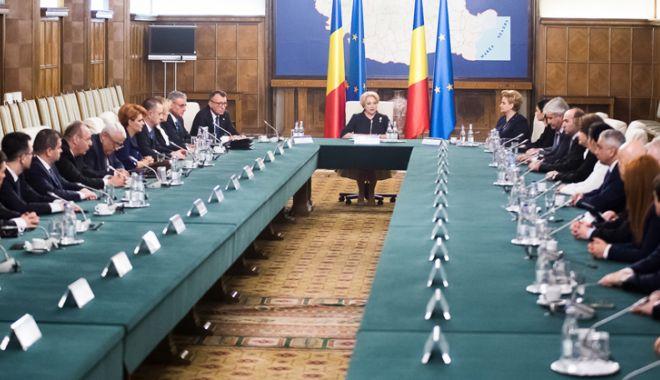 Foto: Ședință comună a Guvernelor României și Republicii Moldova