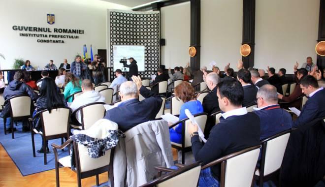 Foto: CJC se reuneşte  în şedinţă. Ce proiecte se vor vota