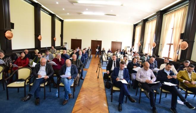 Foto: Traseul Constanţa- Năvodari revine în atenţia consilierilor judeţeni