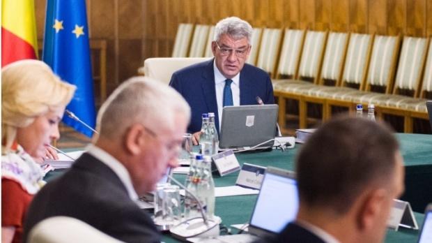 Foto: Şedinţă extraordinară la Guvern