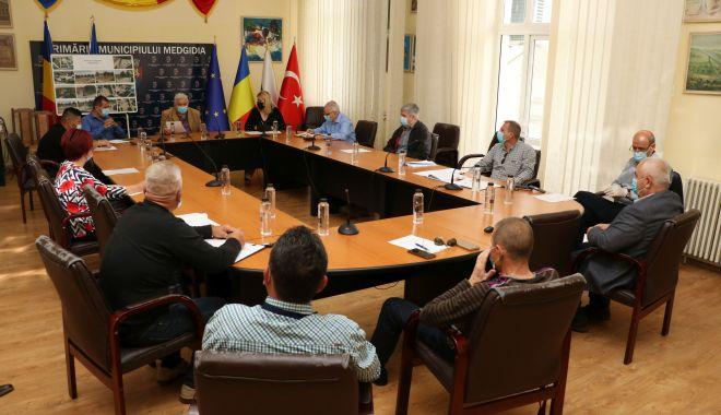 Foto: Consilierii din Medgidia, reuniți în ședință. Ce proiecte au votat