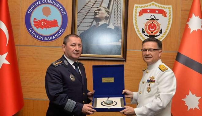 Foto: Şefii Poliţiilor de Frontieră din România şi Turcia, întâlnire la Ankara