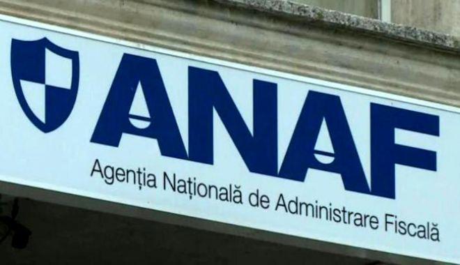 Foto: Informaţie importantă de la ANAF!