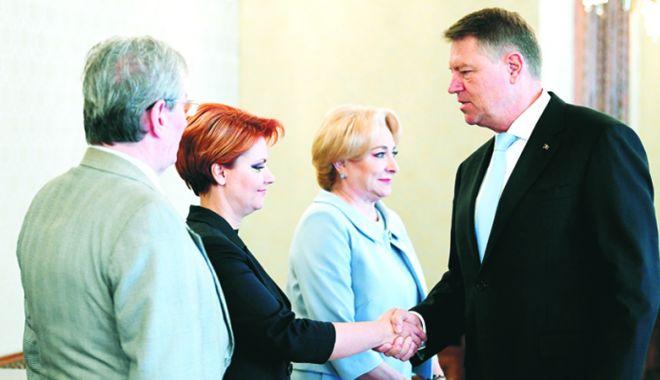 Foto: Se încing spiritele între Klaus Iohannis  și Lia Olguța Vasilescu. Care este motivul