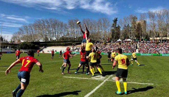"""Foto: Selecţionerul Marius Tincu, după eşecul cu Spania: """"Greşelile se plătesc în puncte"""""""