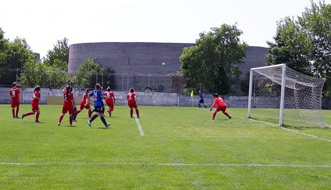 Foto: Bucurie la fotbal feminin. Selena SN Constanța a produs surpriza