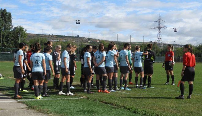 Foto: Liga 1 la fotbal feminin. Înfrângere usturătoare pentru Selena Constanța