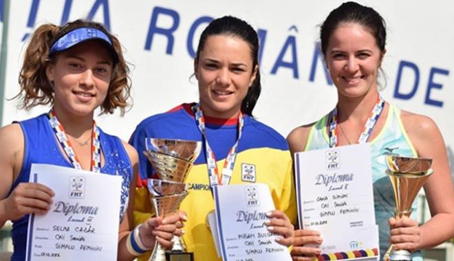 Foto: Selma Cadâr, medaliată cu bronz la Campionatul Naţional