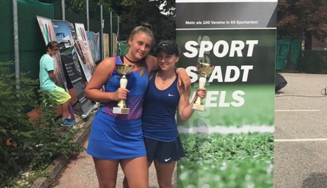 Foto: Selma Cadâr, campioană  la dublu, în turneul din Austria