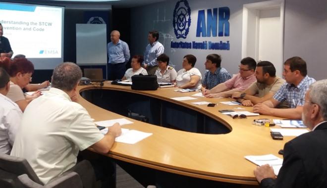 Foto: Seminar internaţional organizat de ANR
