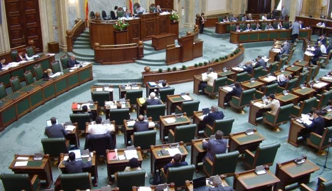 Foto: Senatul a votat plafonarea indemnizaţiilor pentru creşterea copilului
