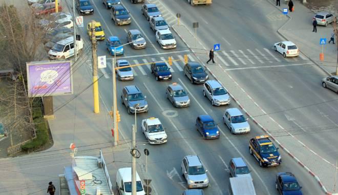 Foto: Schimbări majore în traficul rutier din Constanţa. Ce îi aşteaptă pe şoferi