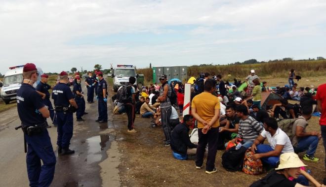 Foto: Sentinţă record. 103 ani de închisoare pentru trafic de migranţi