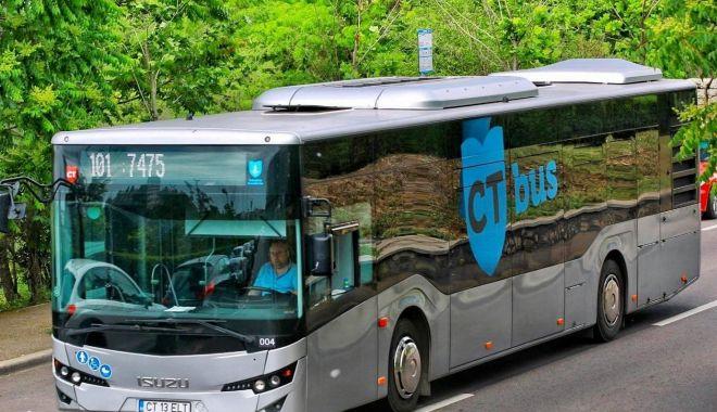 Foto: Se primesc cereri pentru permisele de călătorie gratuite, cu autobuzele CT Bus
