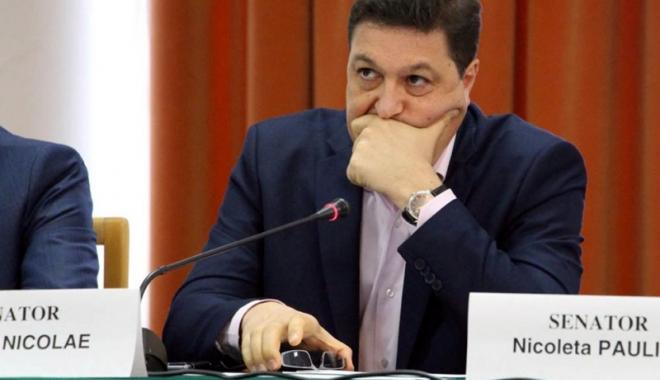 "Foto: Senatorul Șerban Nicolae: ""România e victima unui jaf al gulerelor albe"""
