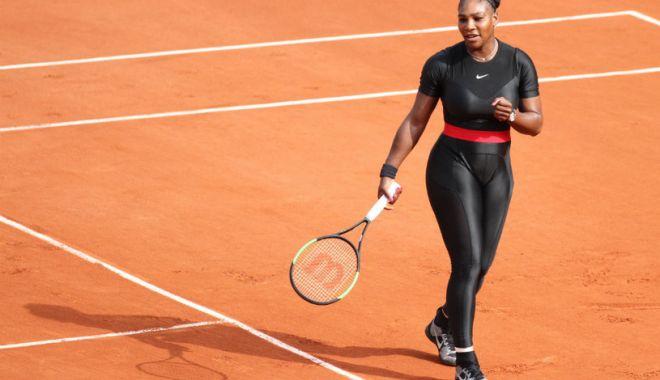 Foto: Serena Williams, apariție șocantă la Roland Garros
