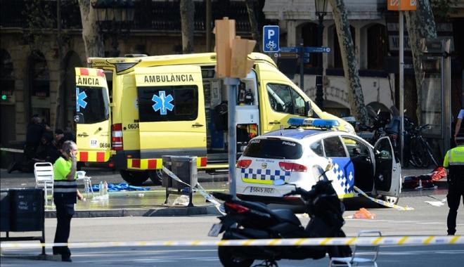 Foto: Serviciile spaniole, alertate de americani înaintea atentatului de la Barcelona