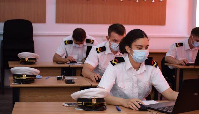 """Sesiune de examene la Academia Navală """"Mircea cel Bătrân"""