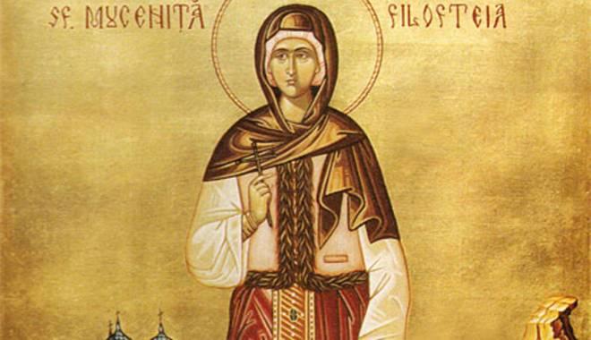 """Foto: Hramul bisericii """"Sf. Mc. Filofteia""""  din Constanţa"""