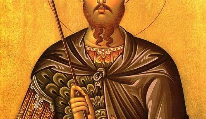 Foto: Sfântul Mare Mucenic Teodor Tiron, cinstit de creştini