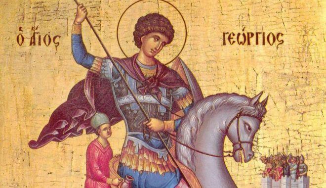 Religie. Credincioșii îl sărbătoresc, astăzi, pe Sfântul Gheorghe - sfantulgheorghe2-1587564884.jpg