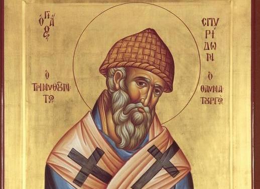 Foto: Creștinii îl sărbătoresc pe Sfântul Spiridon, făcătorul de minuni