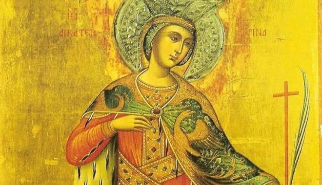 Foto: Sărbătoarea Sfintei Ecaterina