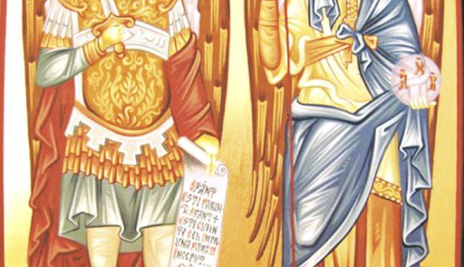 Biserica îi cinsteşte  pe Sfinţii Mihail şi Gavriil - sfinticopy-1541606018.jpg