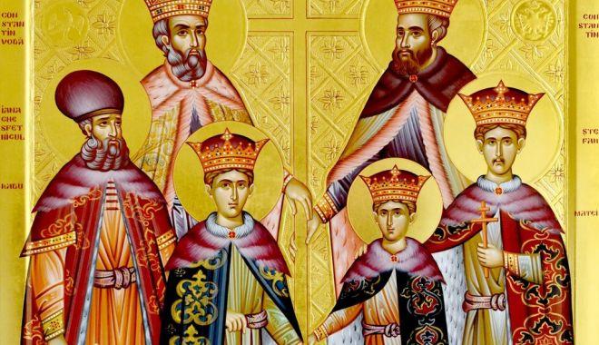 Foto: Sfinții Martiri Brâncoveni, cinstiți de Biserica Ortodoxă română
