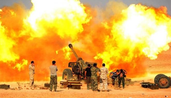 Foto: SI a preluat, din nou, controlul orașului Bukamal, din Siria