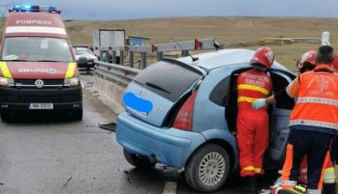 GALERIE FOTO - VIDEO / Accident grav, în județul Constanța. O victimă este încarcerată - sibioara-1590496138.jpg