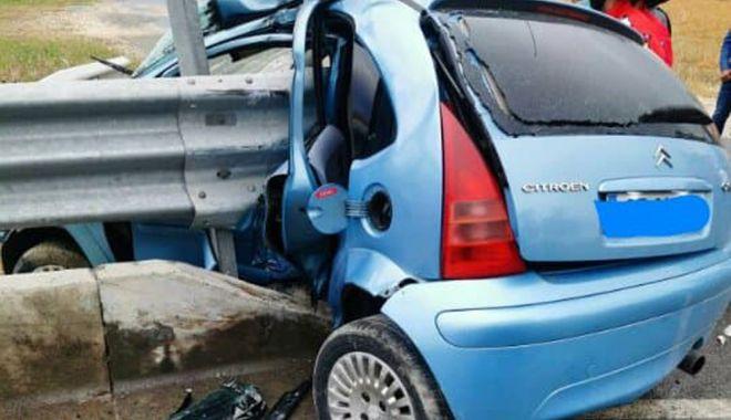 GALERIE FOTO - VIDEO / Accident grav, în județul Constanța. O victimă este încarcerată - sibioara1-1590496301.jpg