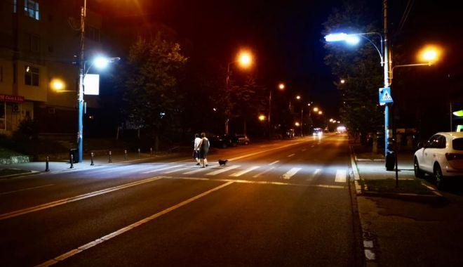 Foto: Siguranța pietonilor asigurată de sisteme de iluminat moderne