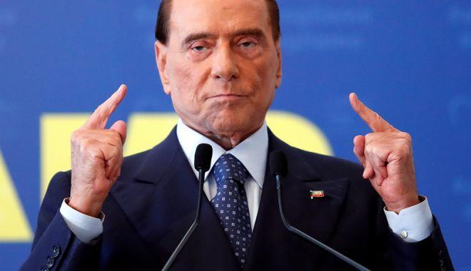 Foto: Silvio Berlusconi va candida, anul viitor, la alegerile pentru Parlamentul European